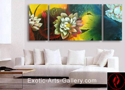chinese-lotus-flower-painting
