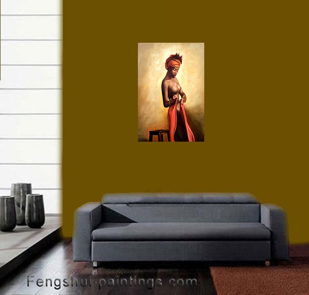 Nude Painting Modern Wall Art Décor Nude Art Stretched Canvas Prints