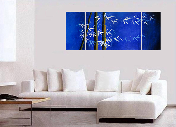 Giclee Artwork Canvas Art Bamboo Art Framed Bamboo Painting Canvas Prints