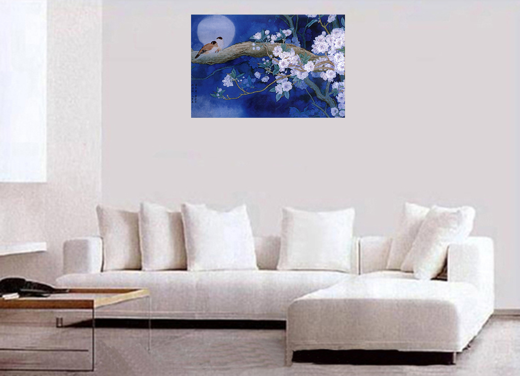 Asian Wall Decor Feng Shui Painting Canvas Wall Art Chinese Painting