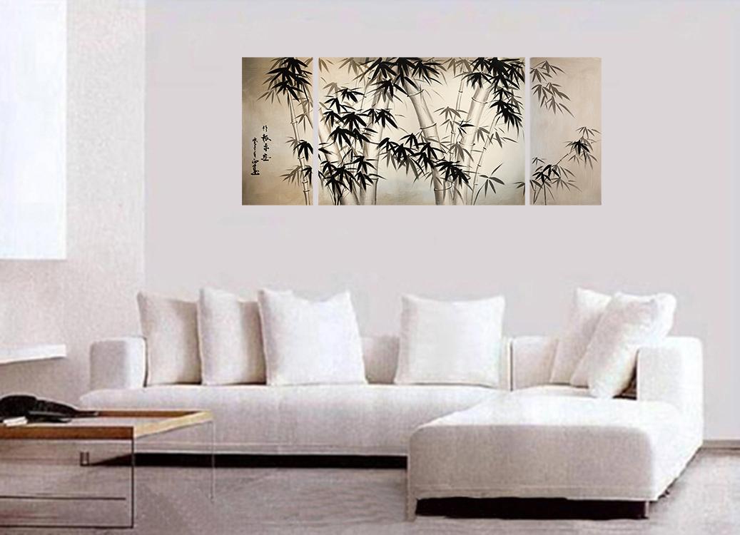 Giclee artwork canvas art fine art prints wall art japanese bamboo art