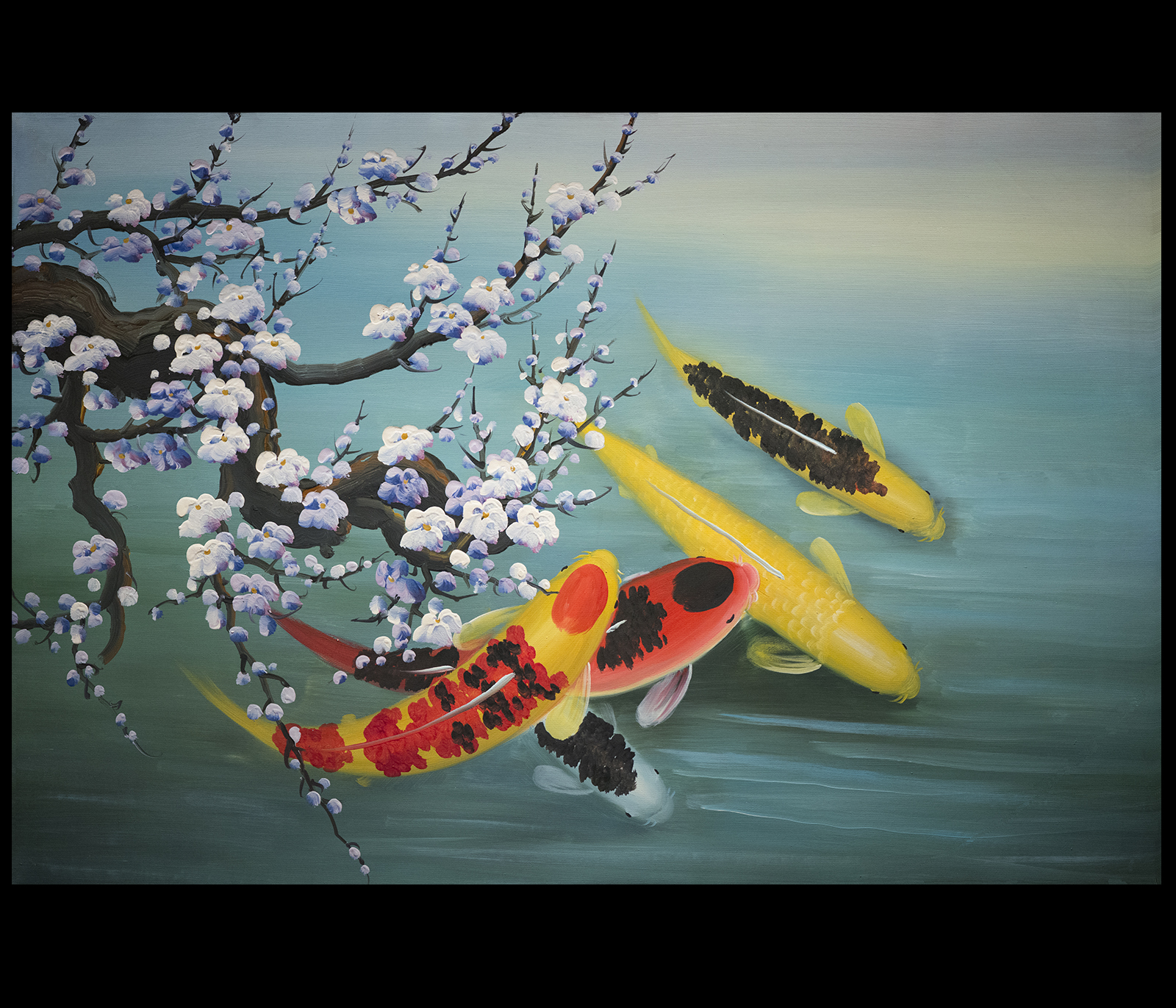 Koi Fish Paintings On ...