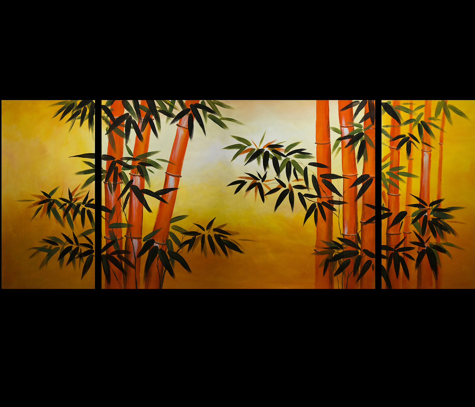 Canvas Art Fine Art Prints Wall Art Decor Japanese Bamboo Art