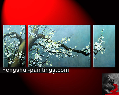 chinese abstract art chinese cherry blossom painting. Black Bedroom Furniture Sets. Home Design Ideas