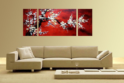 Lovely Asian Painting, Asian Wall Art, Asian Artwork