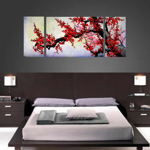 Asian painting asian wall art asian artwork for Artwork for wall decoration