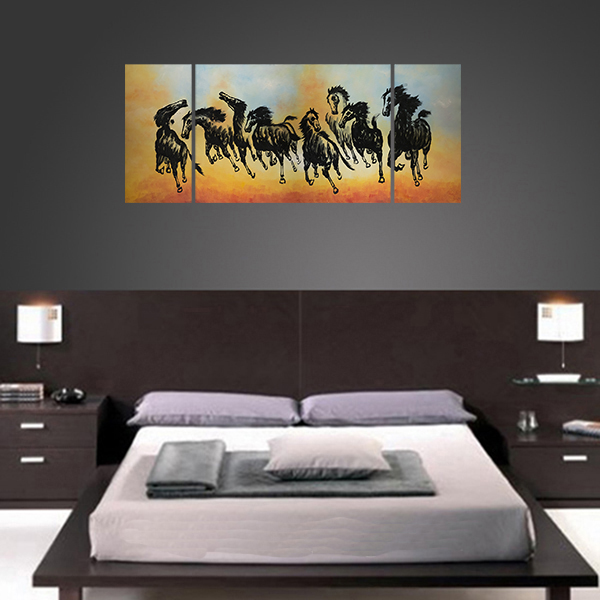 Asian Painting Asian wall art horse Painting