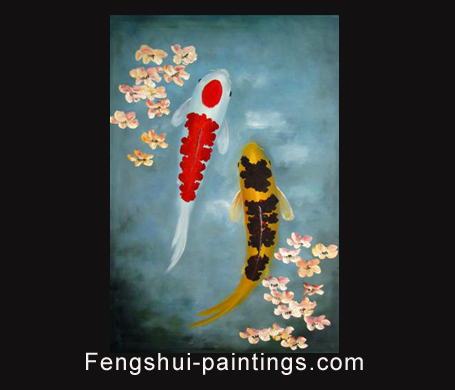 Chinese Feng Shui painting