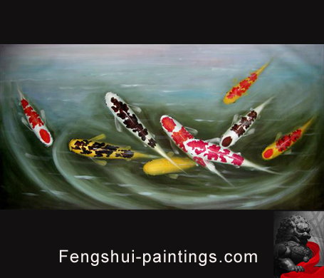 Koi-Fish-Painting