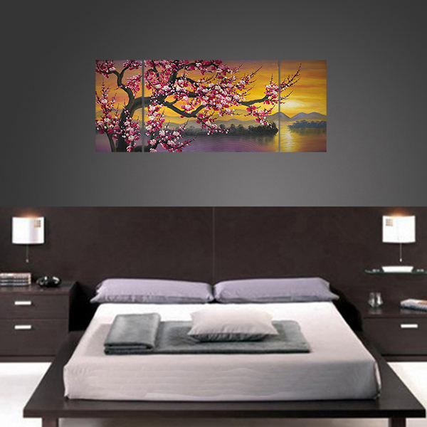 Abstract Paintings on Canvas Painting Japanese Cherry Blossom Painting