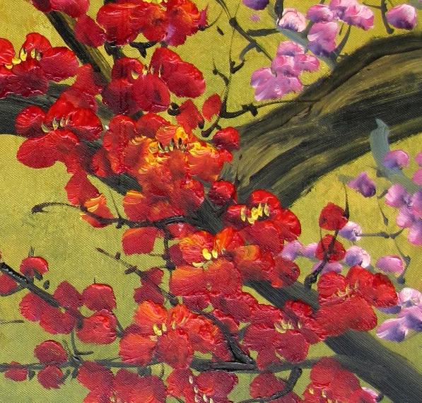 japanese art cherry blossom. Japanese Cherry Blossom