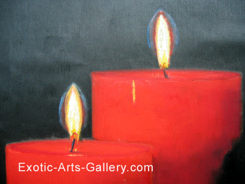 abstract paintings of love. Feng Shui Love Painting