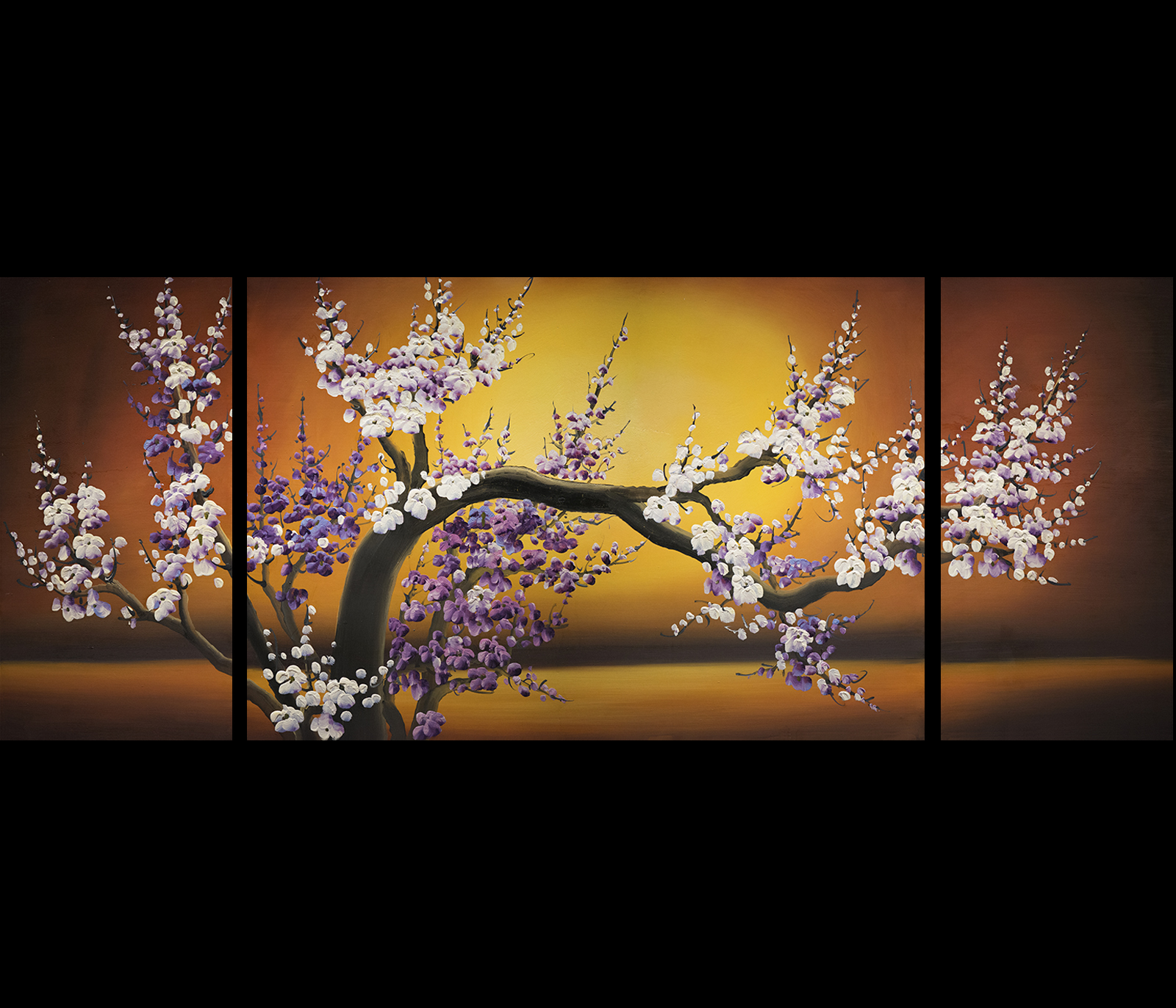 chinese flower painting cherry blossom painting feng shui paintings. Black Bedroom Furniture Sets. Home Design Ideas