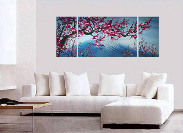 blossom canvas wall art modern abstract art home decor