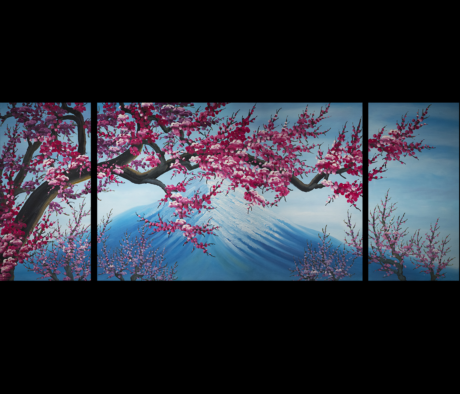 Alfa img Showing Cherry Blossom Paintings Canvas