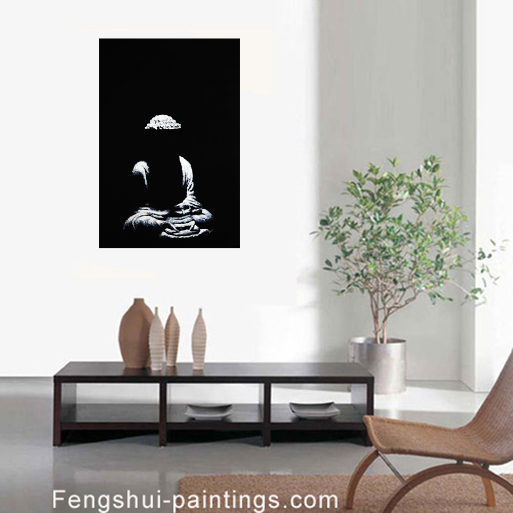 Modern Wall Art Decor painting modern wall decor abstract canvas prints of buddha artwork