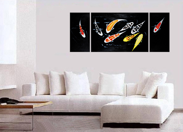 Contemporary Wall Art Decor fish wall art contemporary art modern wall art décor canvas prints