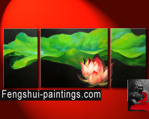 Lotus flower painting chinese flower painting feng shui painting flower painting mightylinksfo Image collections