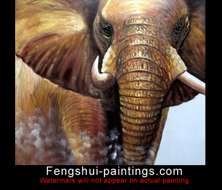 Elephant feng shui elephant paintings - Elephant meaning feng shui ...