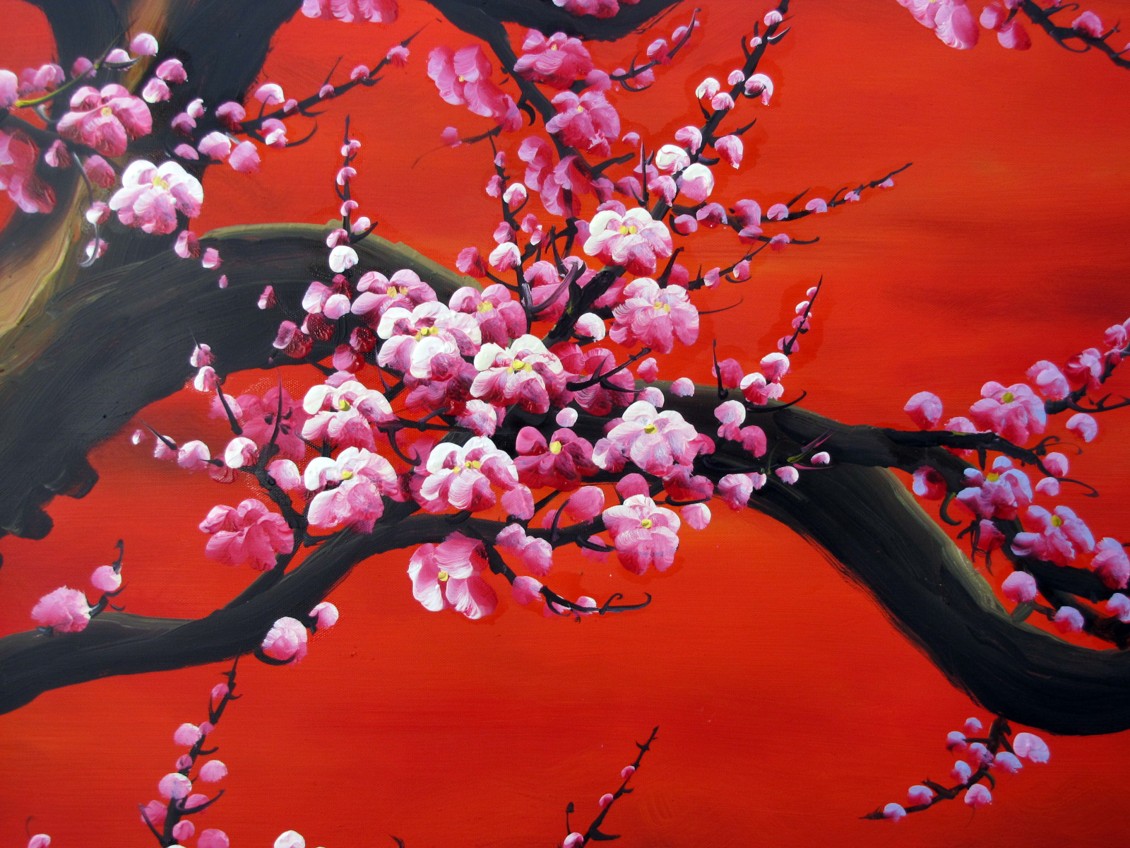 1000 images about cherry blossom on pinterest cherry for Cherry blossom mural works