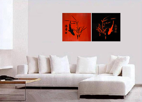 Wall Art Décor Canvas Prints Koi Fish Wall Art Contemporary Art Modern