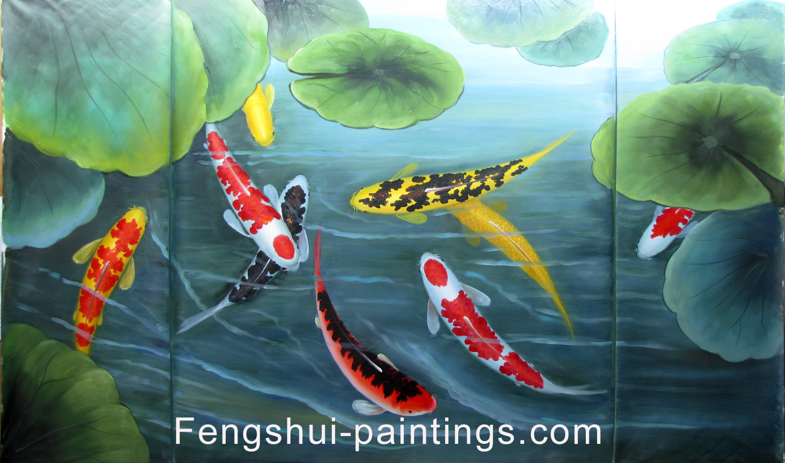 Koi fish painting for How to paint a fish