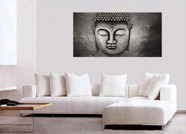 Abstract Art Modern Art Painting Abstract Art Painting Feng Shui Buddha